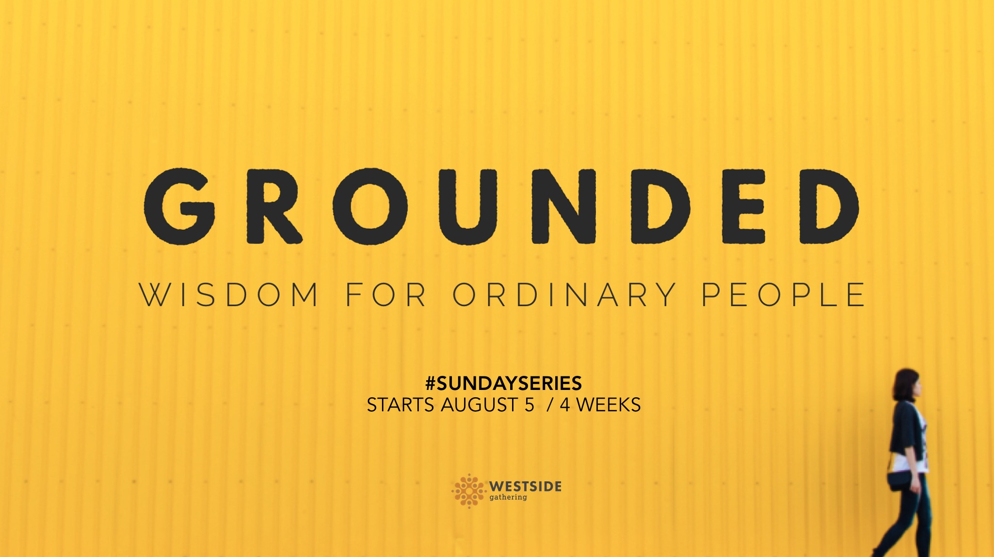 Grounded: What Do You Lean On?